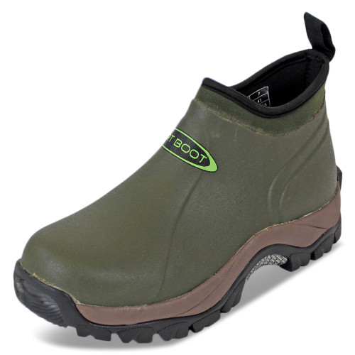 Dirt, Boot, Neoprene, Wellington, Pro, Sport, Ankle, Muck, Boot, Shoe, Green, fishing, welly