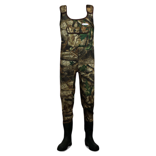 Dirt, Boot, Camo, Neoprene, Chest, Waders, 100%, Waterproof, Coarse, Fishing, Muck, Wader