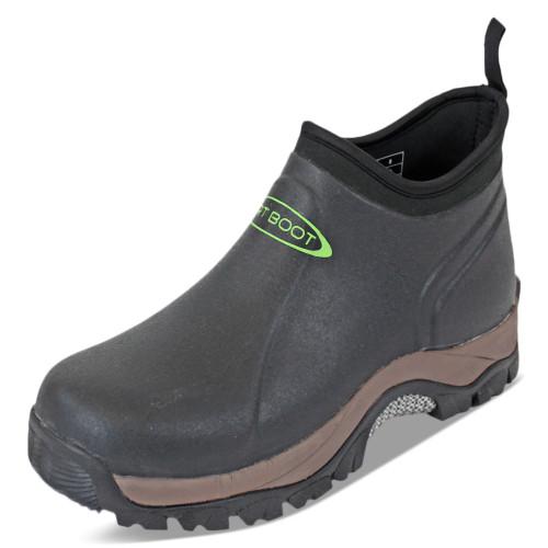 DIRT BOOT, Neoprene, Wellington, Pro,-, Sport, Ankle, Muck, Boot, Shoe, Black