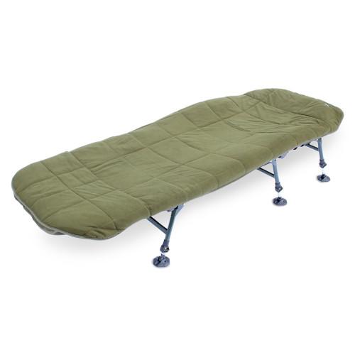 ABODE, Hollow, Fill, Quilted, Fleece, Bedchair, Mattress, Topper, Carp, Fishing, Bed, Cover