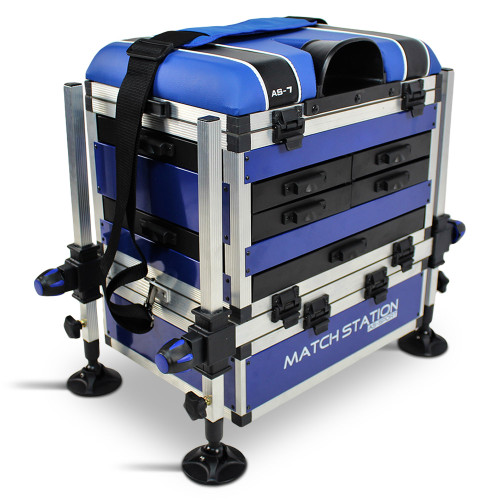 Match, Station, AS7, Drawer, Alloy, Pro, Sport, Seat, Box, seatbox, fishing, tackle