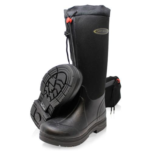 303bf079ea Dirt Boot Neoprene Fleece Lined Wellington Muck Wellies Thermal ...