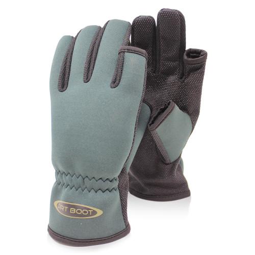 Abode, Polar, Neoprene, Carp, Fishing, Camping, Folding, Fingerless, Mitten, Gloves