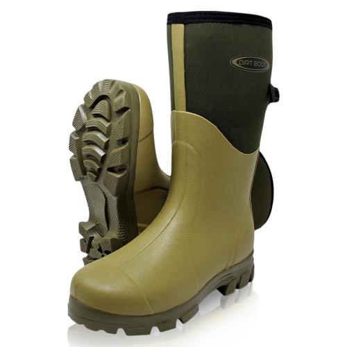 Dirt, Boot, Neoprene, Wellington, Muck, Field, Boots, Adjustable, Gusset, Rain, Thermal, Winter, Wellies
