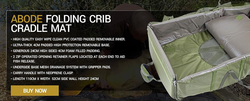 Abode Folding Crib Cradle Mat