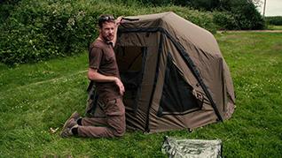 Abode Oval Bivvy, Brolly & Umbrella Systems