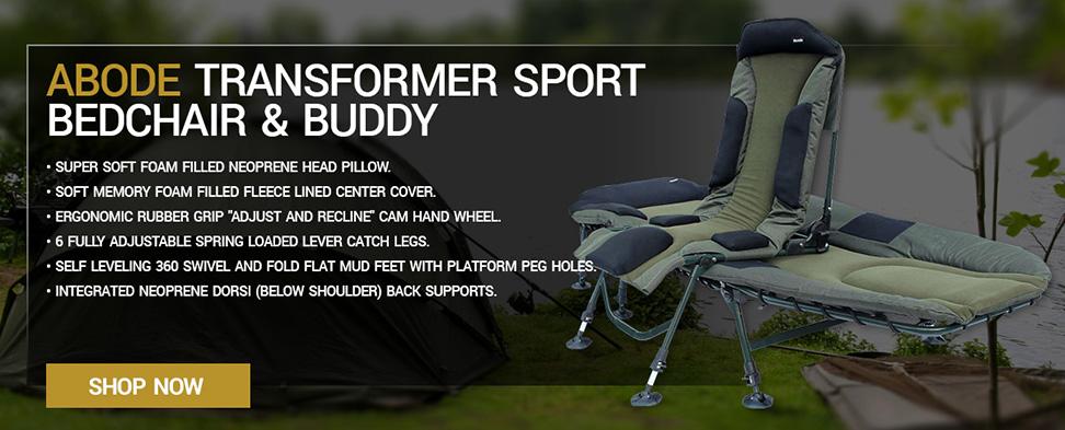 Abode Transformer Sport Bedchair & Buddy