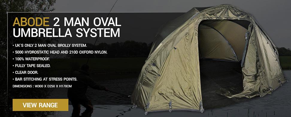 Abode 2 Man Oval Umbrella System
