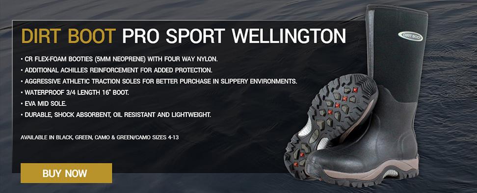 Dirt Boot Pro Sport Wellington