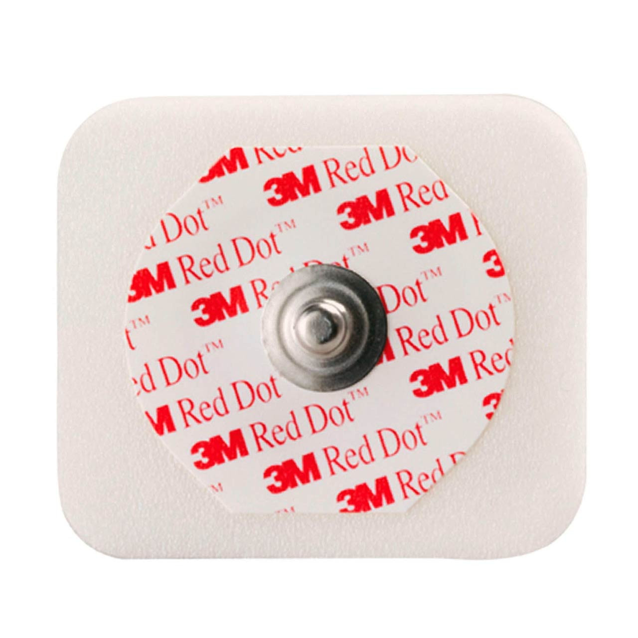 3M 2560 Red Dot Monitoring Electrode with Foam Tape and Sticky Gel