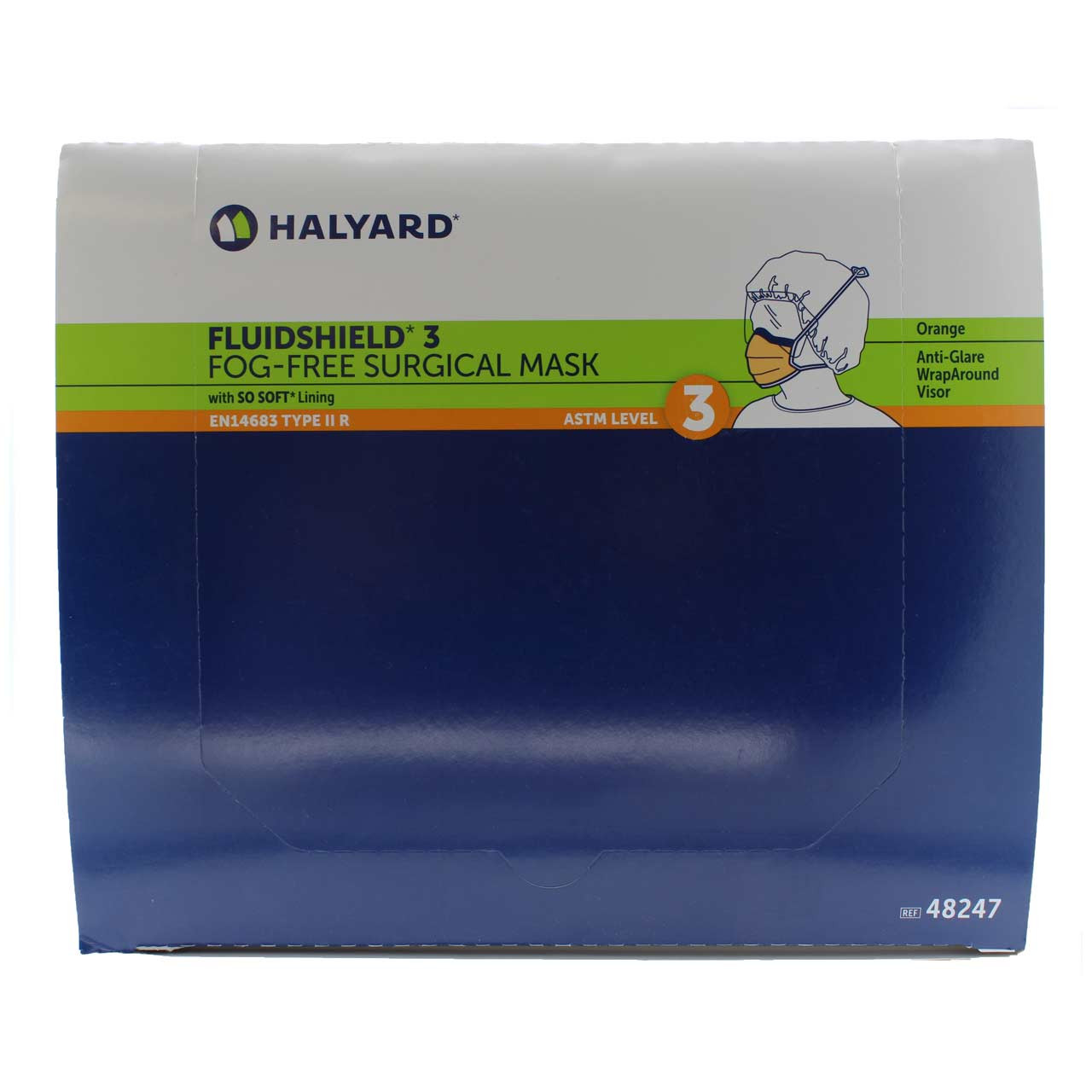 Health Halyard Pleat Mask Style 2f711c06843 Surgical