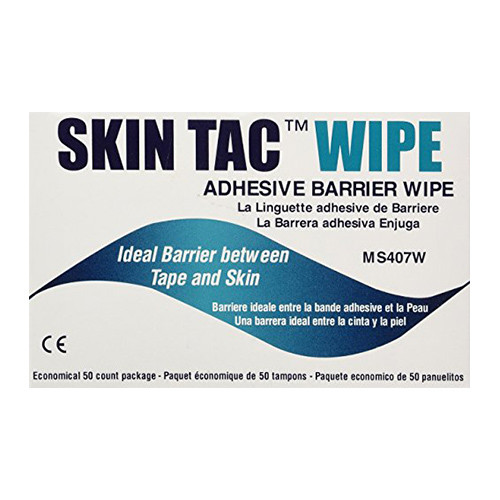 Torbot MS407W Skin-Tac Adhesive Barrier Wipes (50 count)