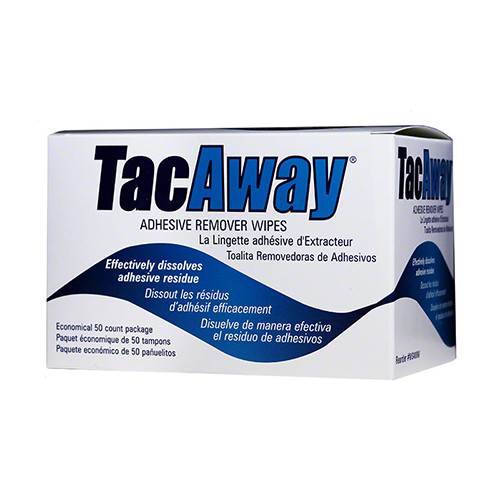 Torbot MS408W TacAway Adhesive Remover Wipes