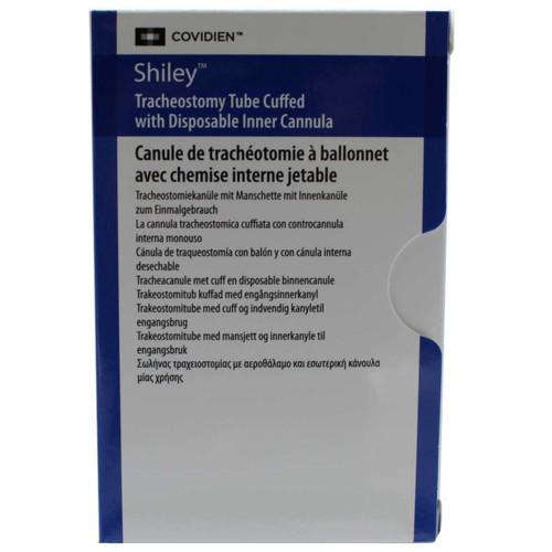 Covidien 6DCT Shiley Disposable Cannula Cuffed Tracheostomy Tube
