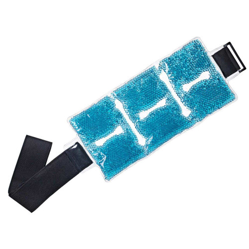 TheraPearl TP-RWW1 Ankle/Wrist Wrap, Reusable Hot & Cold Therapy Pack with Gel Beads