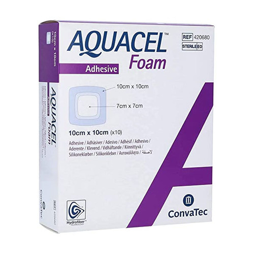 Convatec 420680 Aquacel Foam Foam Dressing (4 in. x 4 in.)