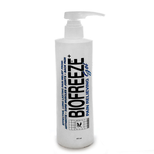 Biofreeze Cold Therapy Pain Relieving Gel Pump Bottle (16oz)