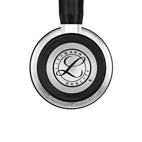 "3M Littmann 6152 Cardiology IV Stethoscope, Black & Smoke, 27"""