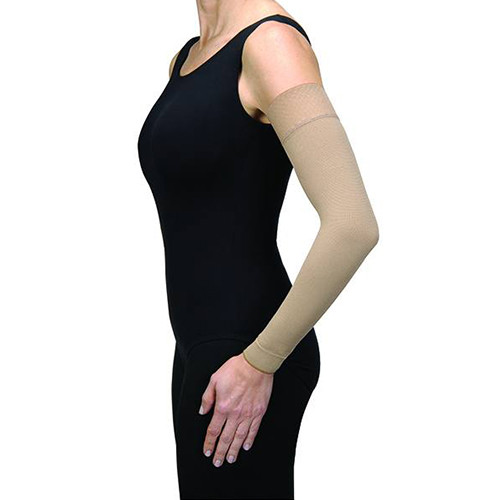 Jobst 102301 Bella Strong 20-30 mmHg Regular Armsleeve, Black, Size 1