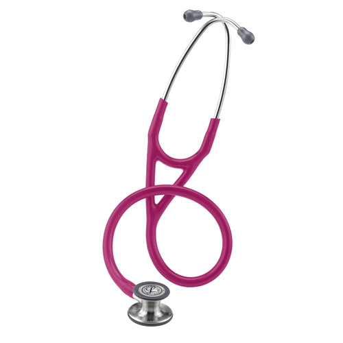 "3M Littmann 6158 Cardiology IV Stethoscope, Raspberry, 27"""