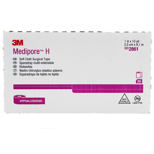 3m 2861 Medipore Soft Cloth Medical Tape