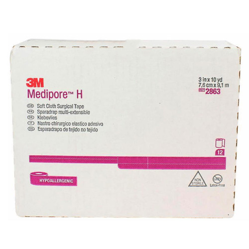 3M 2863 Medipore Soft Cloth Medical tape