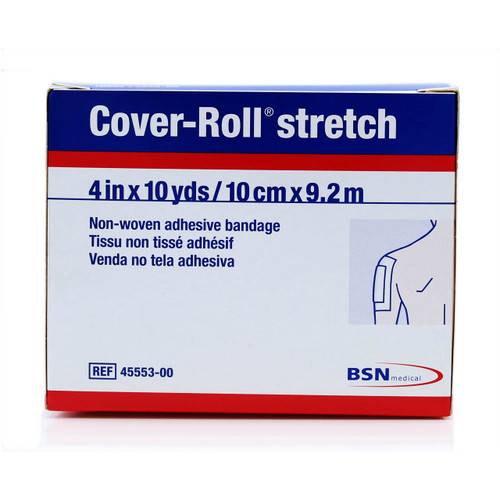 "BSN 45553 Cover-Roll Stretch Non-Woven Adhesive Bandage (4"" x 10 Yards)"