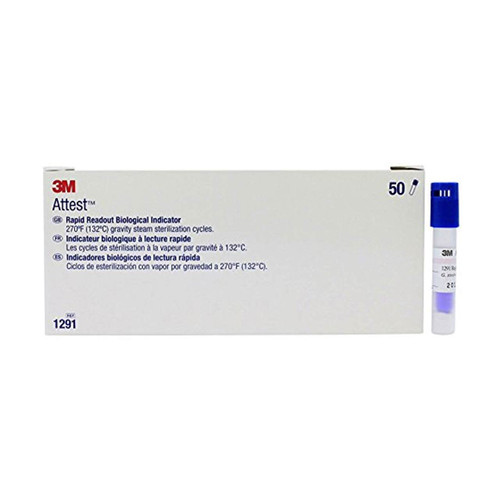 3M Attest 1291 Rapid Readout Biological Indicators