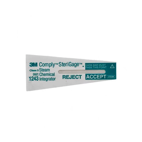 "3M 1243A Comply SteriGage Chemical Integrator (2"" x 3/4"")"