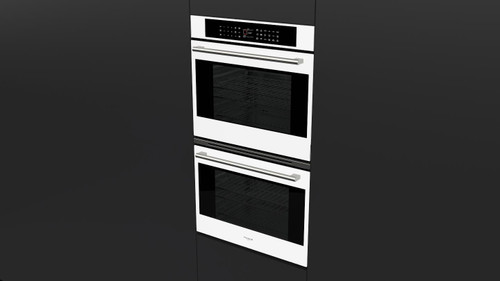 "Fulgor Milano 30"" 700 Series Built-in Double Oven (White Glass)"