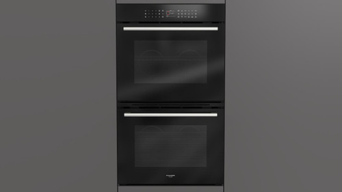 "Fulgor Milano 30"" 700 Series Built-in Double Oven (Black Glass)"