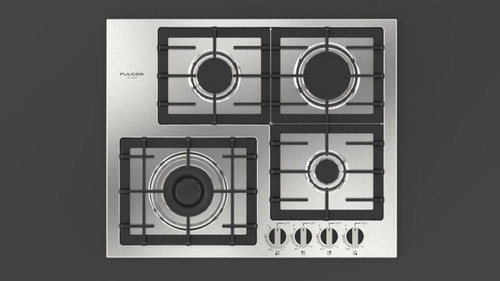 "Fulgor Milano 24"" 400 Series Gas Cooktop"