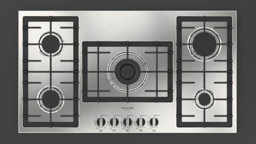"Fulgor Milano 36"" 400 Series Gas Cooktop"