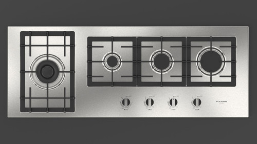 "Fulgor Milano 42"" 400 Series Gas Cooktop"