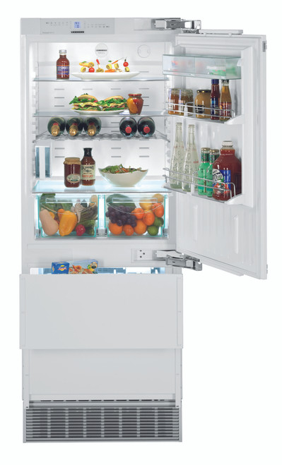 "Liebherr 30"" Fully Integrated Premium Fridge/Freezer w/ Internal Ice Maker"