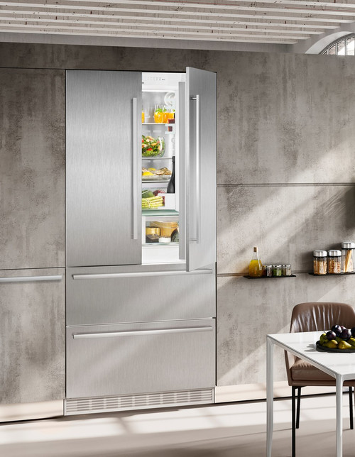 "Liebherr 36"" Fully Integrated French Door Premium Plus Fridge/Freezer"