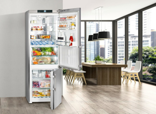 "Liebherr 30"" Freestanding Premium Fridge/Freezer w/ Ice Maker - Right Hinge"