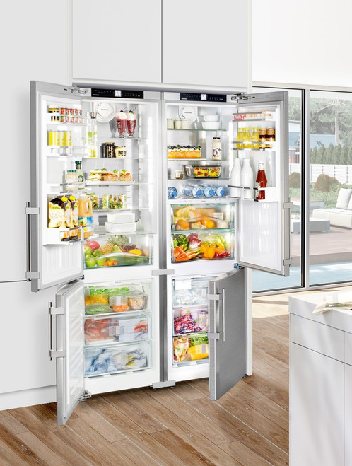 "Liebherr 48"" Side-By-Side Freestanding Premium Plus Fridge/Freezer"