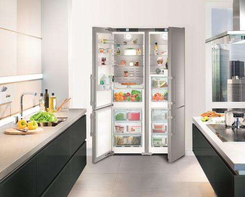 "Liebherr 60"" Side-By-Side Freestanding Premium Plus Fridge/Freezer"