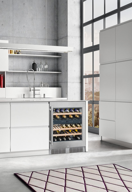 "Liebherr 24"" Built-In Under Counter Wine Storage Cabinet - Dual Zone"