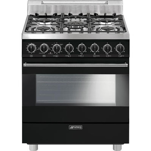 "Smeg 30"" All Gas Range w/ Color Options"
