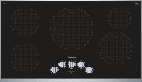 "Thermador 36"" Electric Cooktop w/ Knob Control"