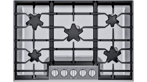 "Thermador 30"" Gas Cooktop w/ Glass Control Panel"