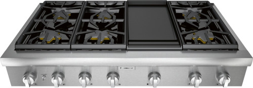 "Thermador 48"" Professional Rangetop w/ Electric Griddle"