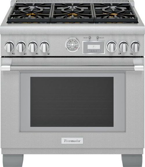 "Thermador 36"" Gas Grand Pro Range"