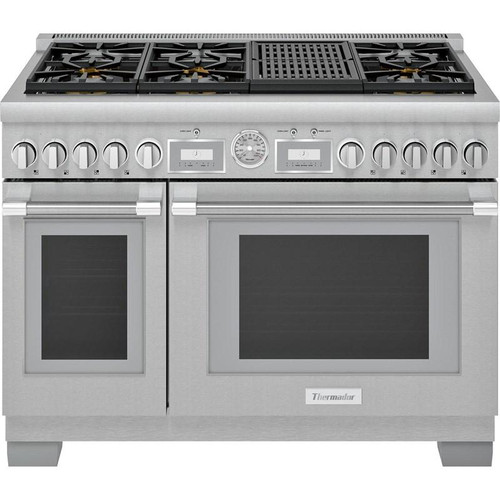 "Thermador 48"" Gas Grand Pro Range w/ Electric Grill"