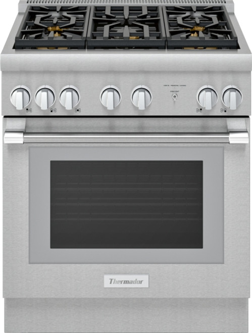 "Thermador 30"" Dual Fuel Harmony Pro Range w/ 5 Burners"