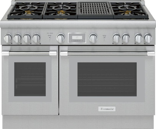 "Thermador 48"" Gas Harmony Pro Range w/ Electric Grill"