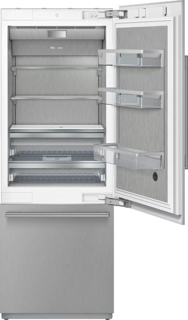 """Thermador 30"""" 2-Door Refrigerator Bottom Mount Freezer w/ Masterpiece Handles"""