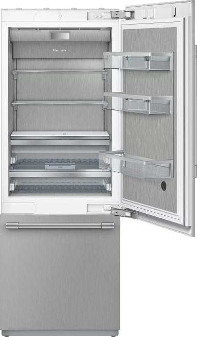 """Thermador 30"""" 2-Door Refrigerator Bottom Mount Freezer w/ Pro Handles"""